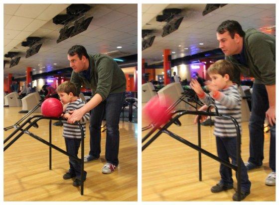 Alex bowling